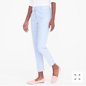 [ j crew ] skimmer pants in cotton oxford